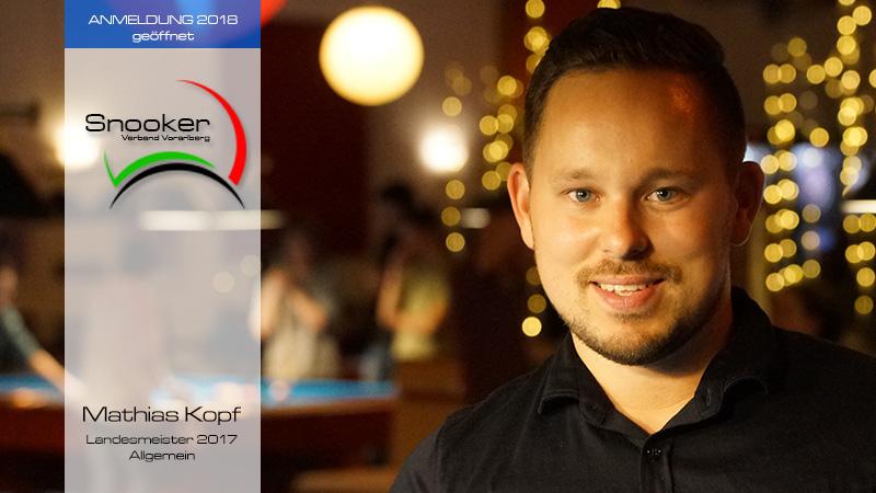 Anmeldung Snooker Landesmeisterschaft Allgemein geöffnet.
