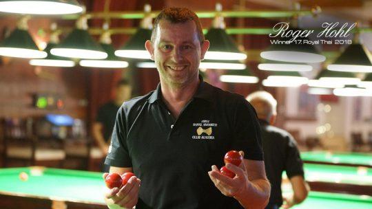 Roger Hohl 17. Royal Thai Sieger